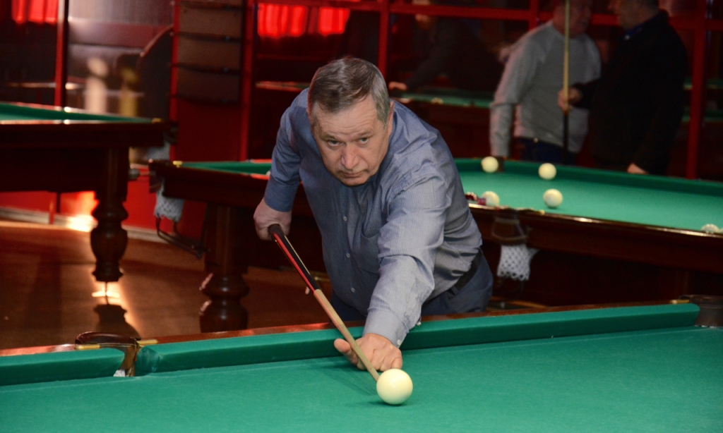 Первый ежегодный турнир по бильярду «Сибирская Пирамида»