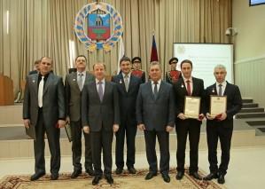 В Алтайском крае вручили премии в области науки и техники
