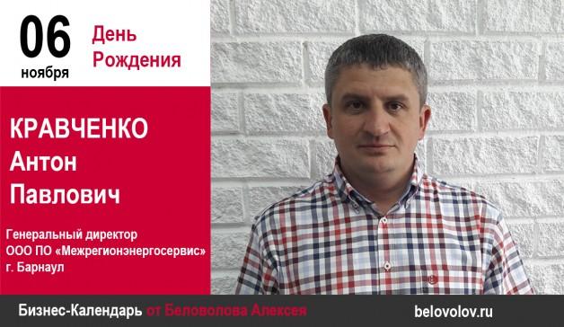День рождения. Кравченко Антон Павлович