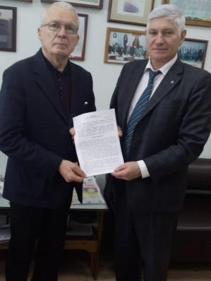 Подписано Соглашение с Алтайской краевой общественной организацией ветеранов (пенсионеров) войны, труда, Вооруженных Сил и правоохранительных органов