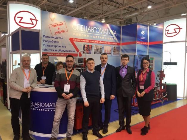 Международная выставка технических средств охраны и оборудования для обеспечения безопасности и противопожарной защиты Securika Moscow.