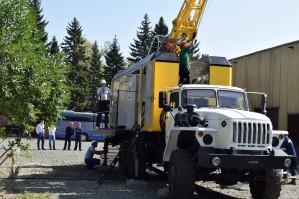 Алтайгеомаш презентовал буровую установку УКБ-5СП