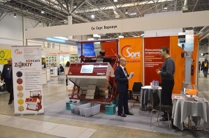Алтайская компания «СиСорт» впервые представила норию собственного производства на международной выставке