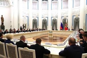 Президент РСПП Александр Шохин принял участие в заседании Совета по стратегическому развитию и нацпроектам
