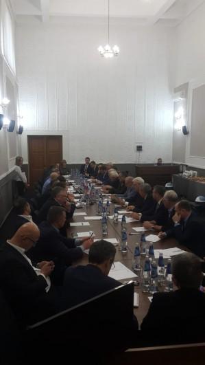 28 ноября 2018 г состоялось расширенное Заседание Правления  Союза промышленников Регионального объединения работодателей Алтайского края.